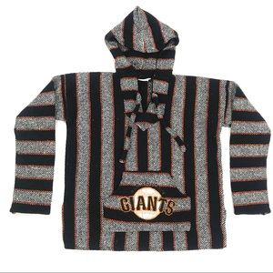 Textiles XL SF Giants Knit Pull On Hoodie Sweater